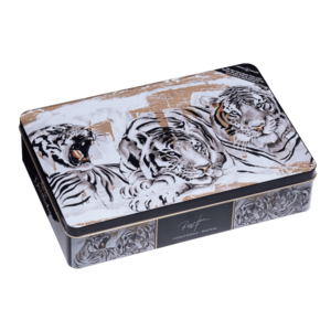 Rolf Knie decorative art tin «tiger»